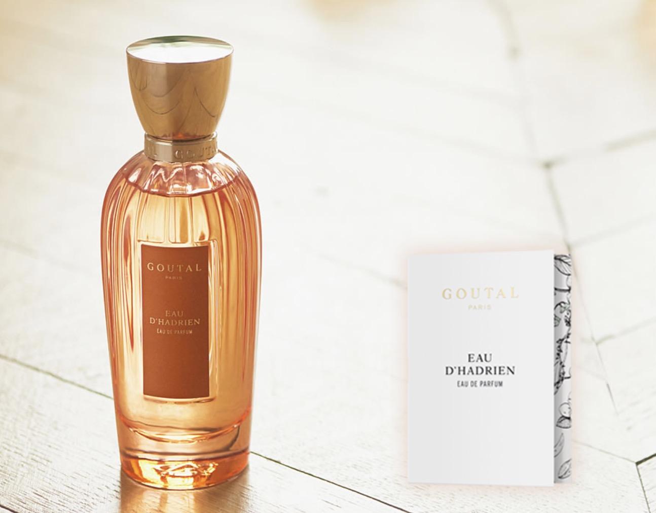 Code promo Goutal Paris : Une dose d'essai du parfum Eau d'Hadrien de Goutal Paris offerte gratuitement