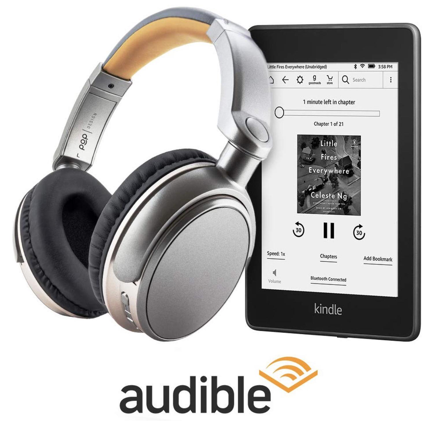 Code promo Amazon : 6 mois d'abonnement au service d'écoute de Livres audio et Podcasts Audible à -50% pendant 6 mois