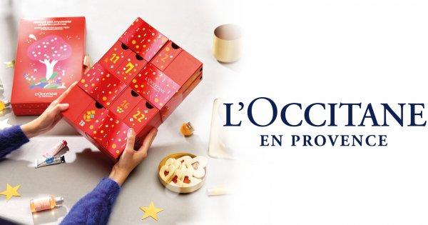 Code promo Marie Claire : 20 calendriers de l'avent beauté L'occitane