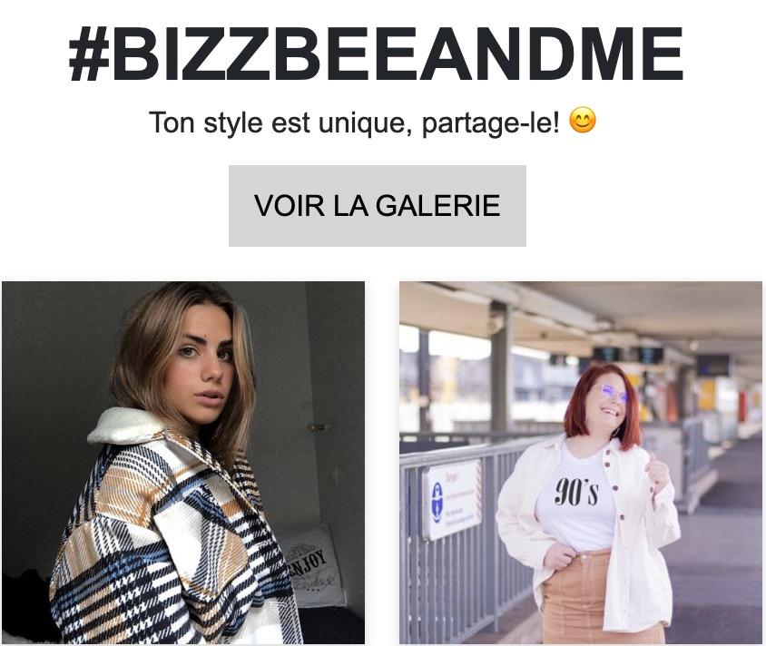 Code promo Bizzbee : Une carte cadeau de 100€ à gagner chaque mois sur instagram avec #Bizzbeeandme