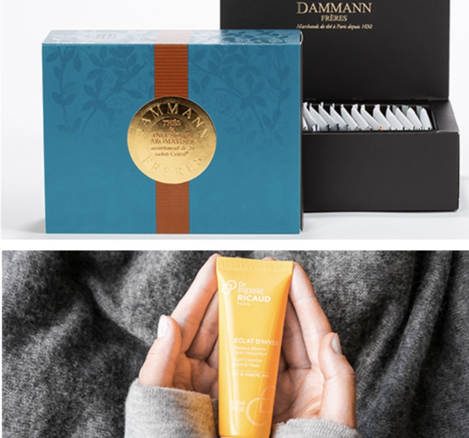 Code promo Dr Pierre Ricaud : 5 Box Cocooning Dammann Frères à gagner