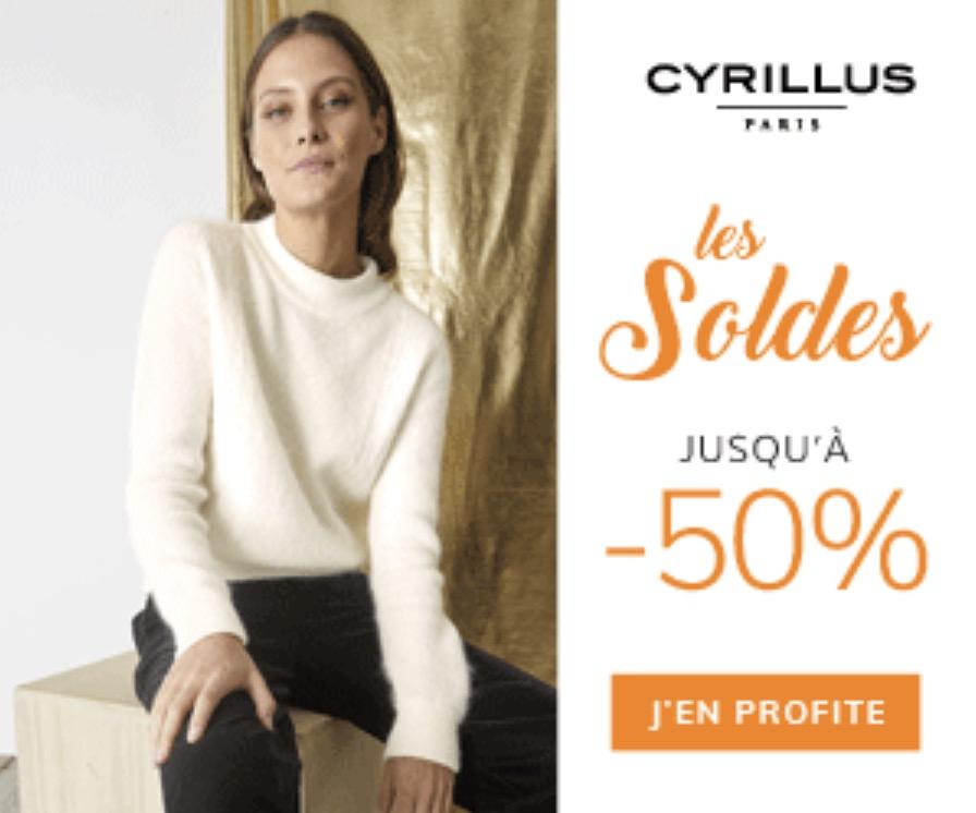 Code promo Cyrillus : Jusqu'à - 50% sur une sélection de produits et -10% supplémentaires dès 3 articles soldés achetés