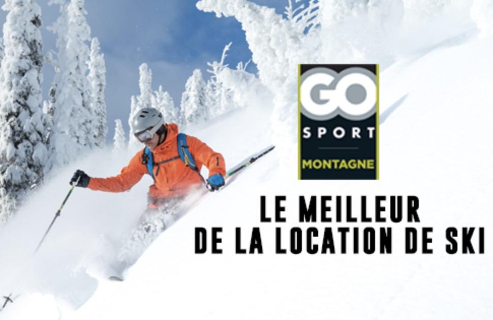 Code promo Veepee : [Rosedeal] Payez 10€ pour -50% sur votre location de matériel de ski sur Go Sport Montagne