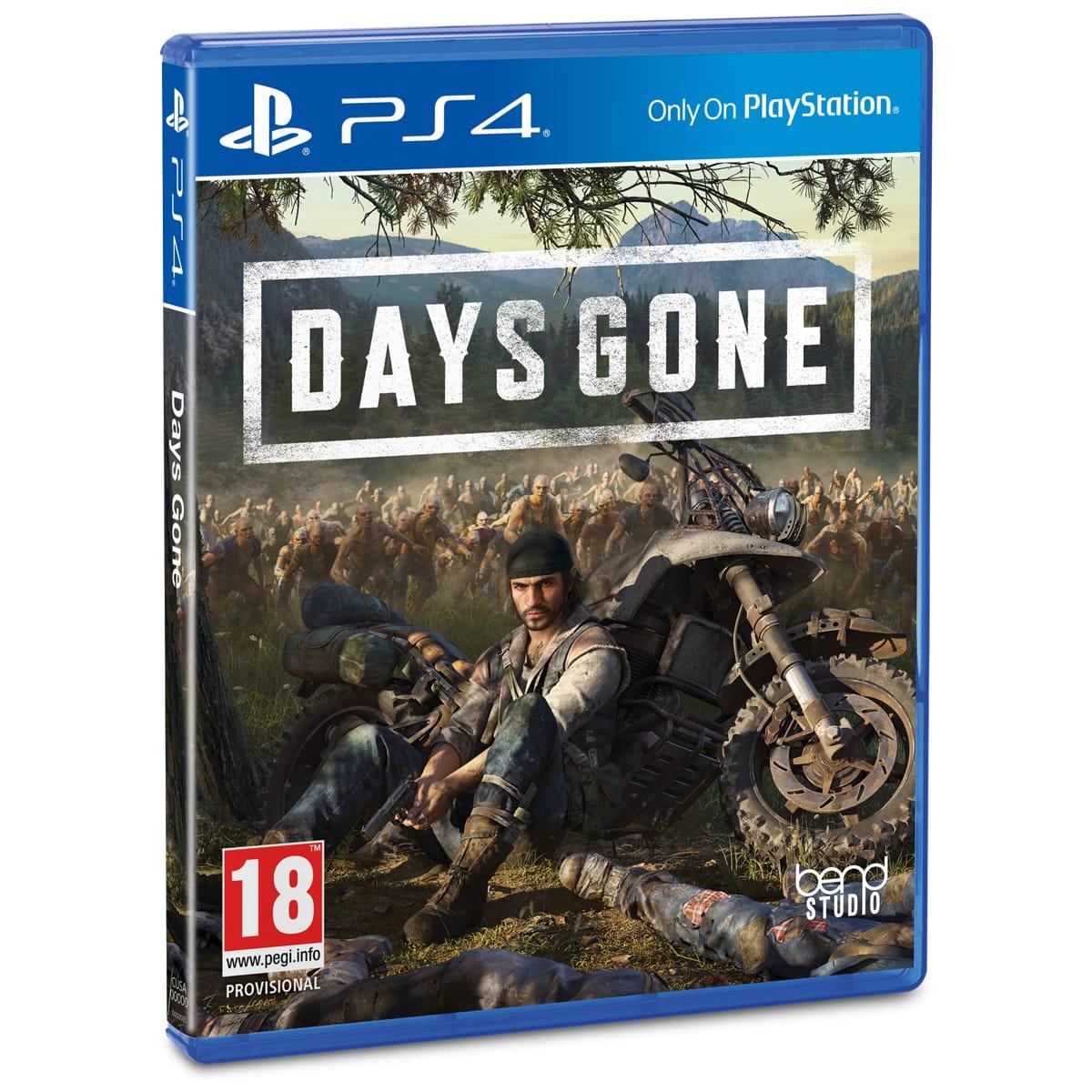 Code promo Auchan : Jeu Days Gone sur PS4 en soldes à 25,99€