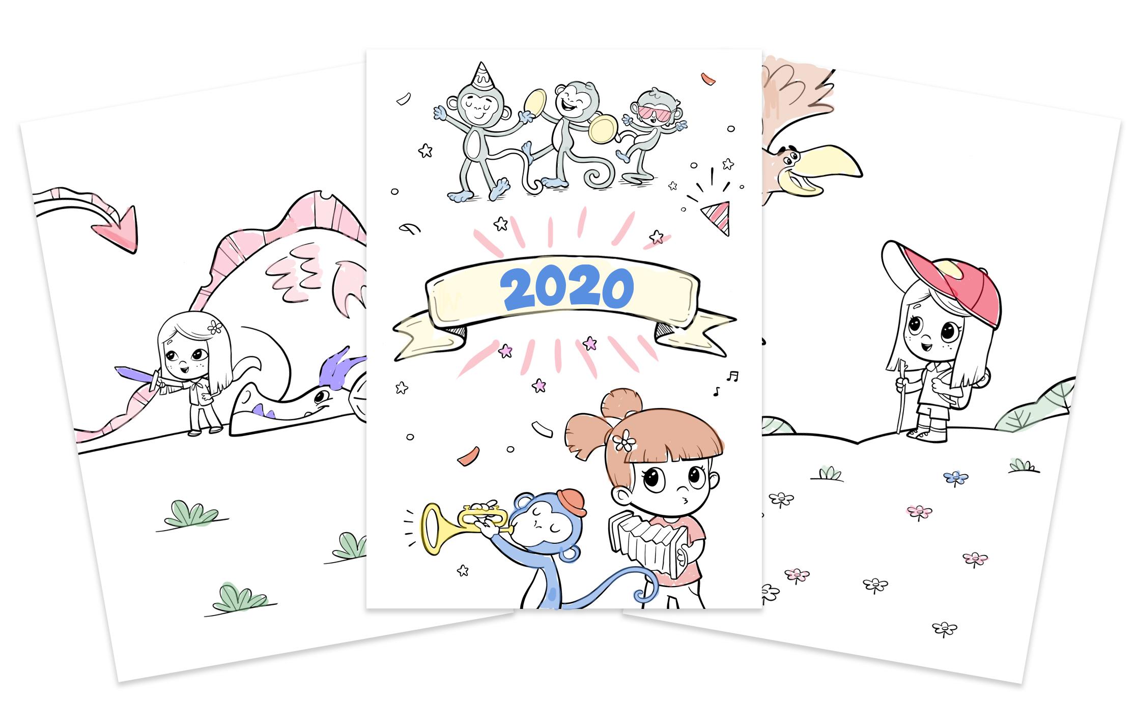 Code promo Hourra Héros : Un calendrier 2020 personnalisé gratuit