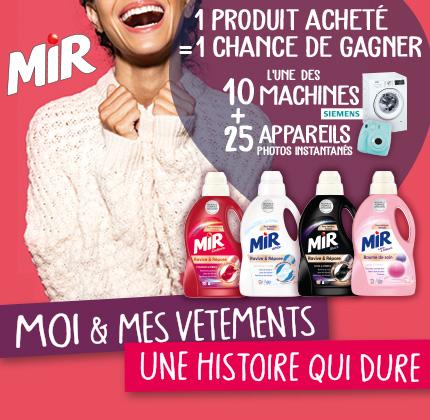 Code promo La Belle Adresse : 10 lave-linges Siemens, 25 appareils photos Instax Mini 9 Fujifilm