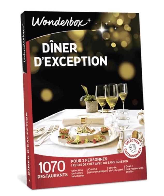 """Code promo Montres & Co : Un coffret cadeau Wonderbox """"Un dîner d'exception pour deux"""" à gagner"""