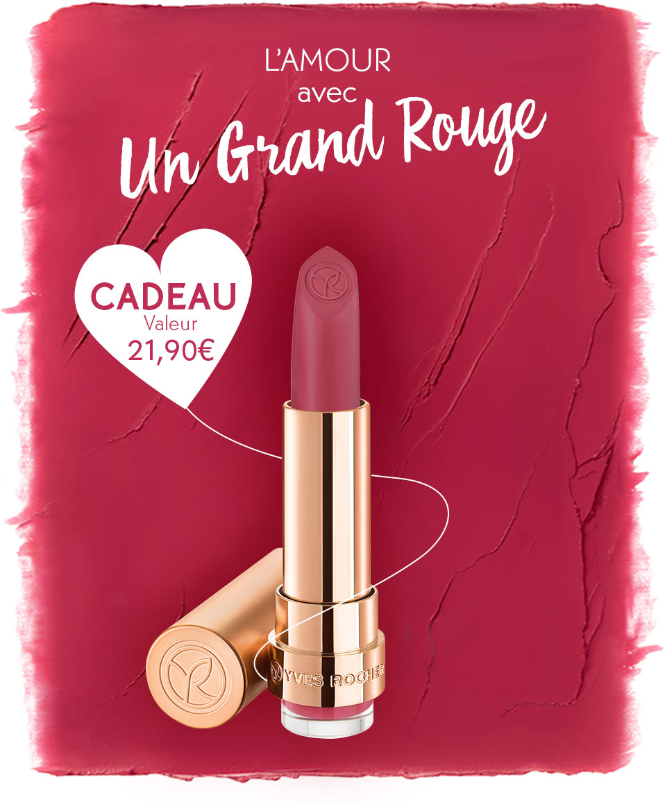 Code promo Yves Rocher : 1 Rouge à lèvres mat offert dès 10€ d'achat