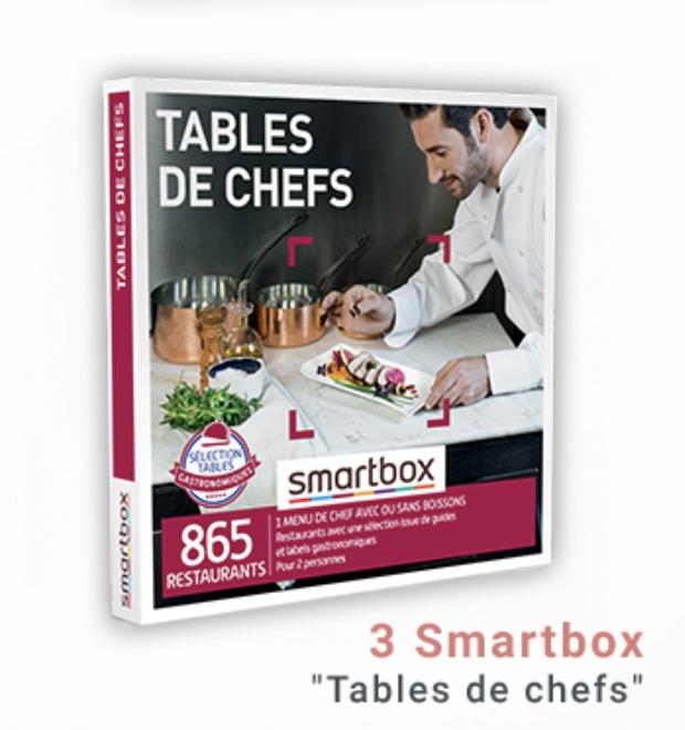 Code promo Legrand : 3 coffrets Smartbox Tables de chefs, 3 prises de courant avec chargeur usb à gagner