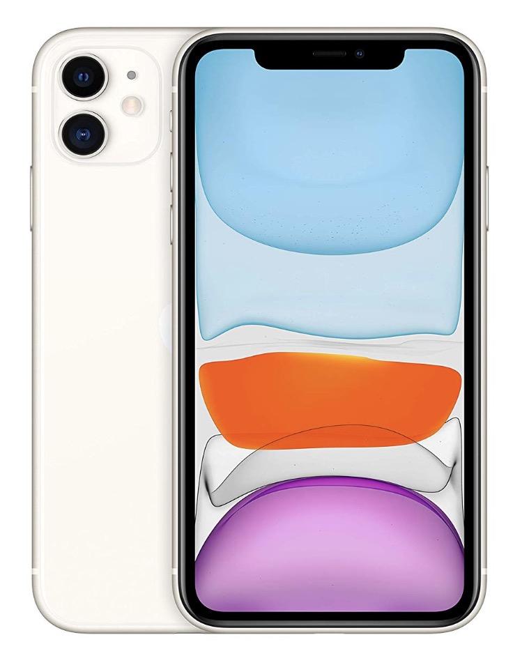Code promo Amazon : Apple iPhone 11 128 Go Blanc à 773,10€
