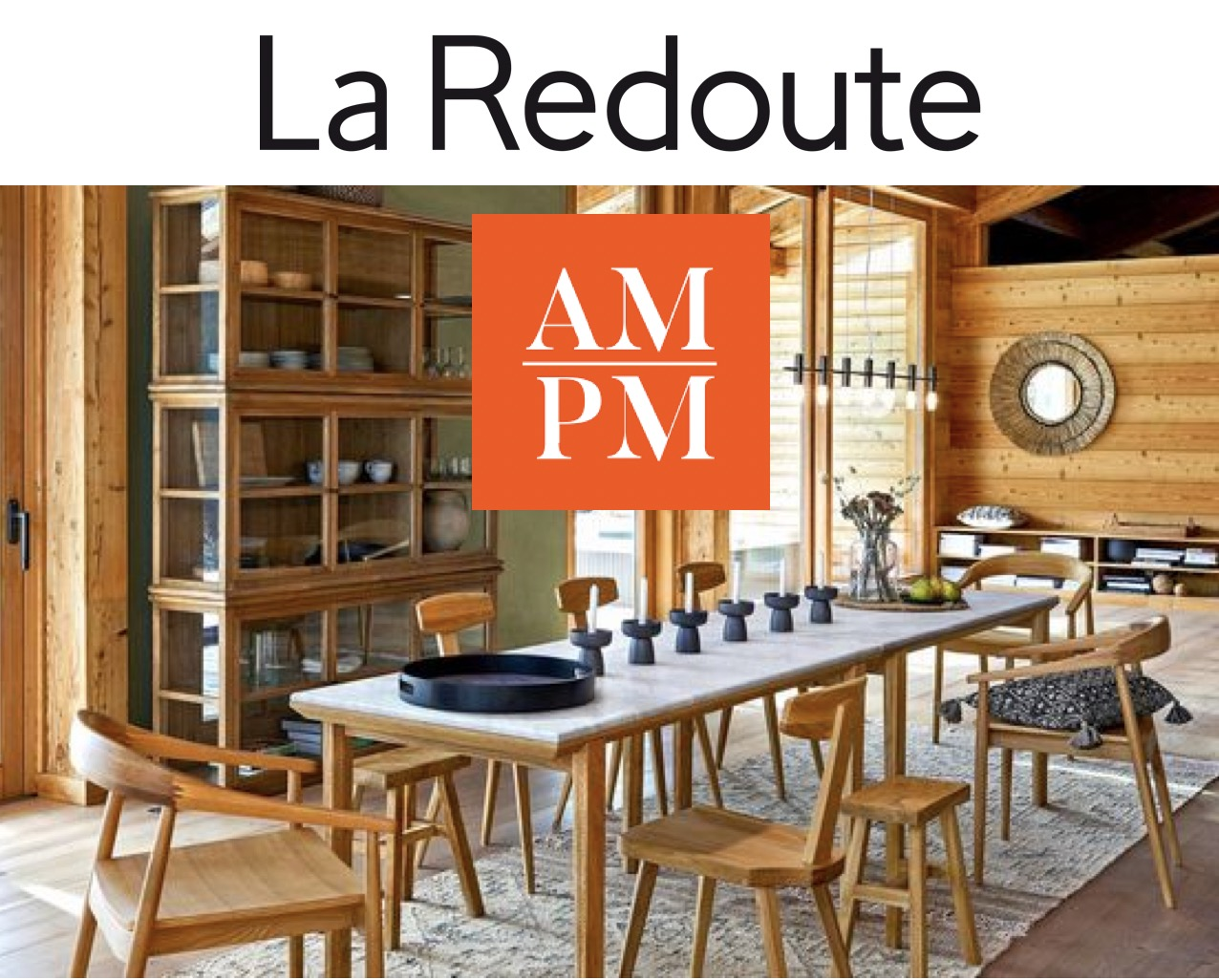Code promo La Redoute : 25€ offerts par tranche de 100€ sur les articles de la marque AM.PM