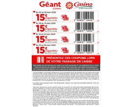 10 En Janvier 2021 Code Promo Geant Casino Valide Offresasaisir Fr