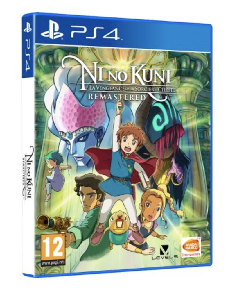 Code promo Fnac : Ni No Kuni : La Vengeance de la Sorcière Céleste Remastered sur PS4 à 19,99€