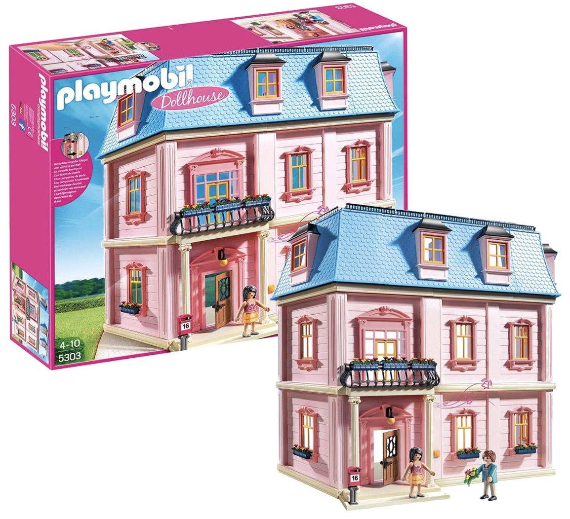 Code promo Amazon : Maison traditionnelle Playmobil 5303 à 109,54€