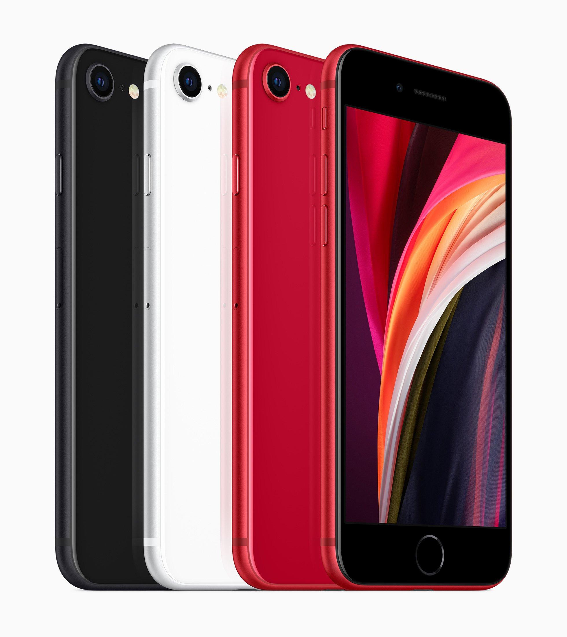 Code promo Sosh : Nouveau smartphone Apple iPhone SE 2020 Coloris au choix 64 Go à 459€