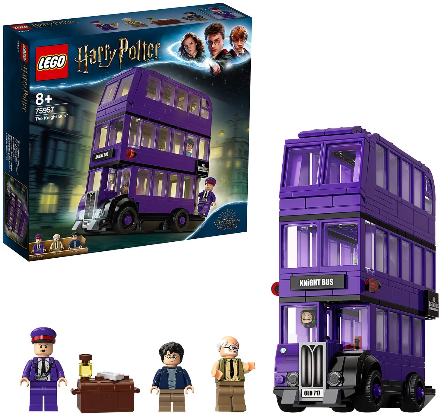 Code promo Amazon : Le Magicobus LEGO Harry Potter à 26,90€