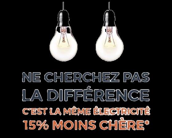 Code promo Cdiscount : -15% sur le prix du kWh de votre électricité avec Cdiscount Energie