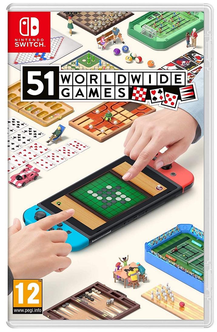 Code promo Carrefour : Jeu  51 Worldwide Games sur Nintendo Switch à 29,95€