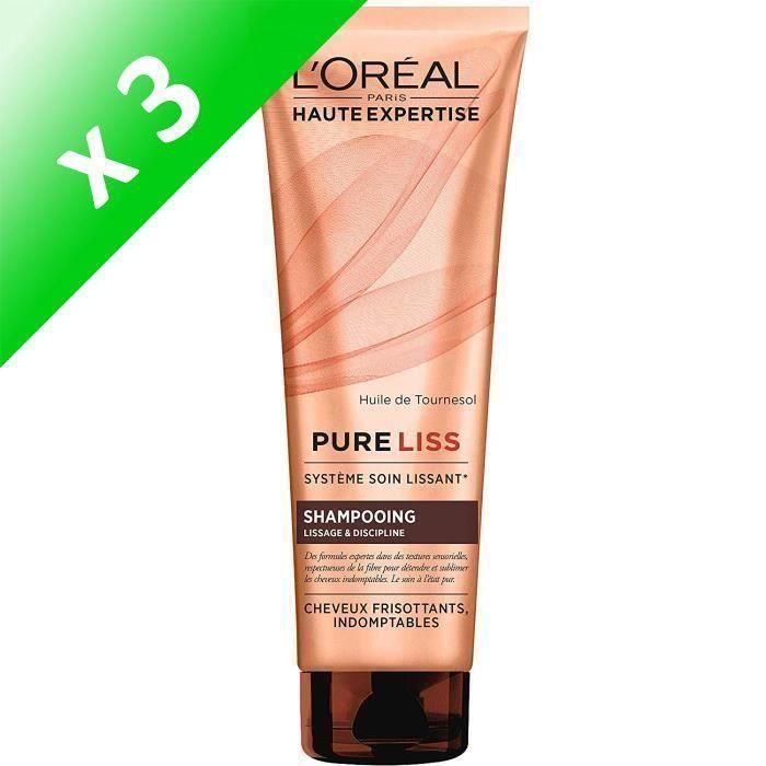 Code promo Cdiscount : Shampoing L'OREAL PARIS Pure liss cheveux frisés - 250 ml (Lot de 3) à 16,99€