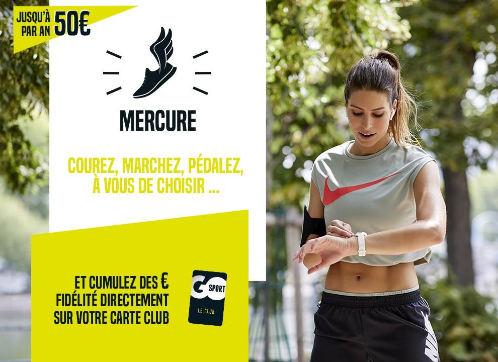Code promo Go Sport : Jusqu'à 50€ offerts par an gratuitement sur la Carte Club Go Sport en faisant du sport
