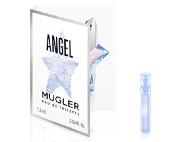 Code promo Mugler : 1 échantillon Angel Eau de Parfum de Mugler offert gratuitement