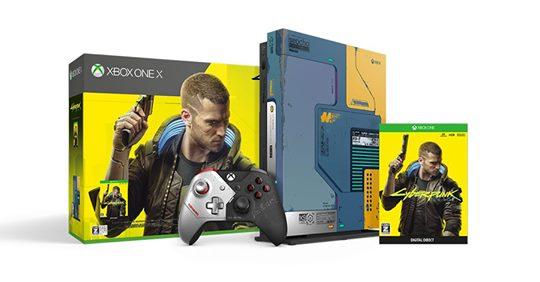 Code promo Microsoft : Pack Xbox One X (1 To) + Cyberpunk 2077 Édition Limitée à 299,99€