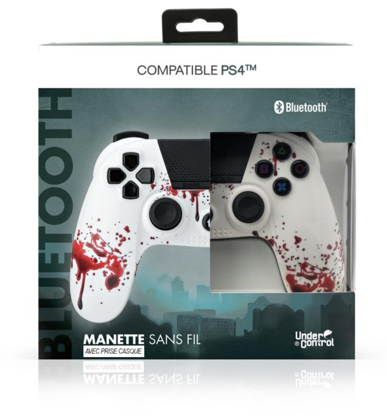 Code promo Boulanger : Manette PS4 sans fil Under Control Zombie à 23,06€
