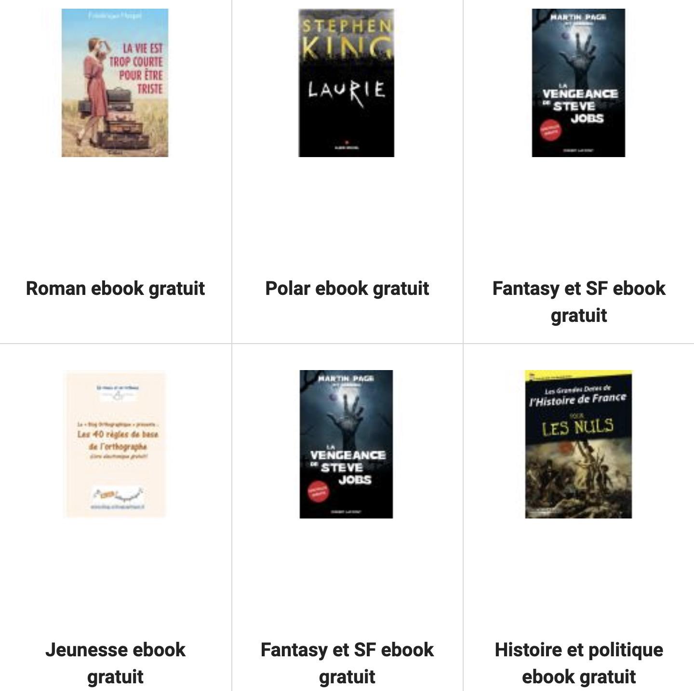 Code promo Fnac : Plus de 500 livres au format ebooks gratuits à lire sur votre lisseuse électronique