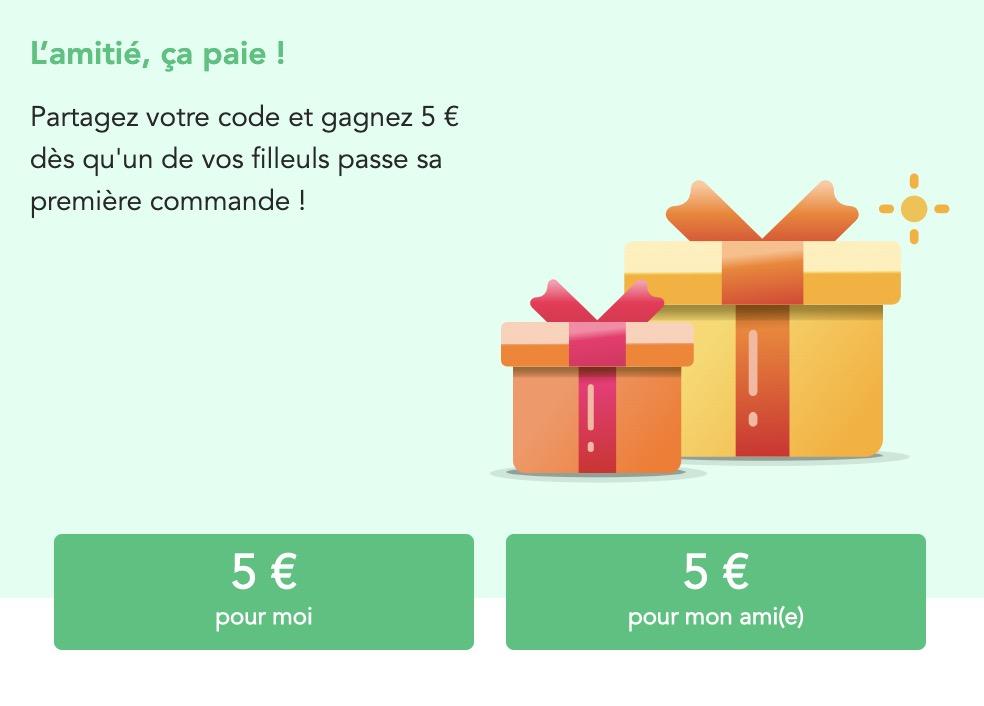 Code promo Franprix : 5€ offerts pour vous et votre filleul grâce au système de parrainage