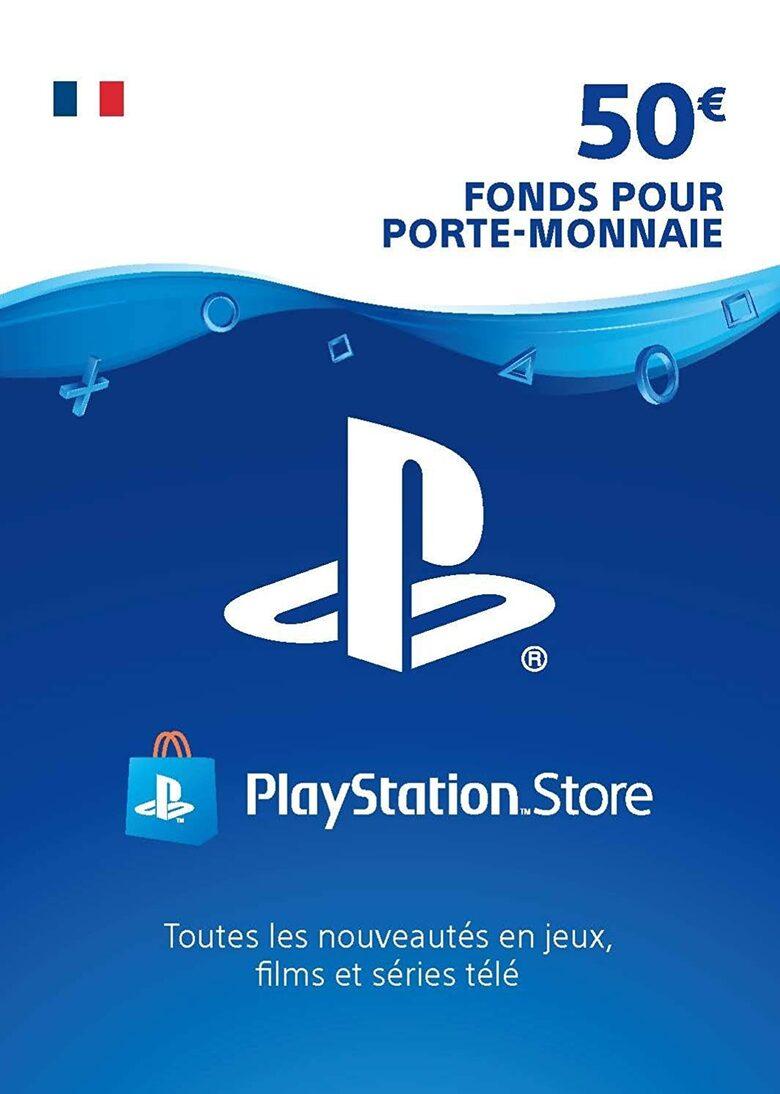 Code promo Eneba : Carte PlayStation Network de 50€ à 39,99€