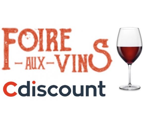 Code promo Cdiscount : [CDAV] 20% de réduction sur la Foire aux vins dès 149€ d'achat
