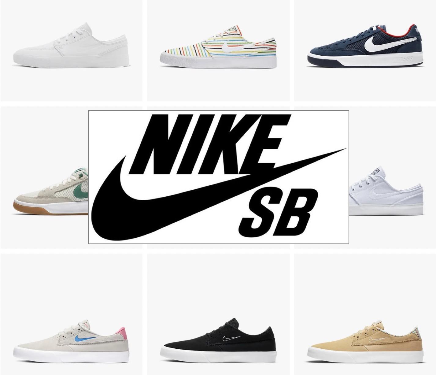 Code promo Nike : 30% de réduction sur les chaussures Nike SB spécialement conçues pour le skateboard