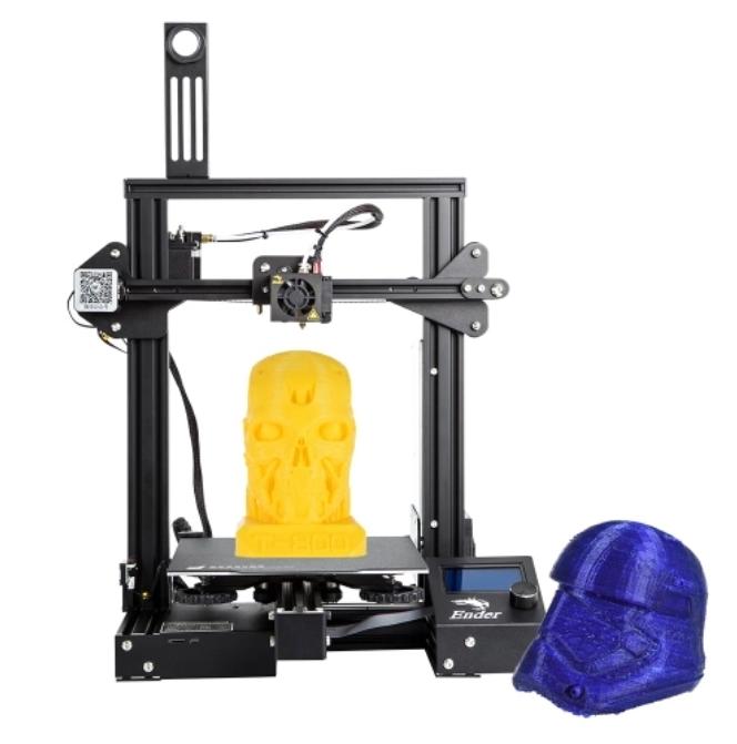 Code promo TomTop :  46€ de réduction sur l'imprimante 3D Creality