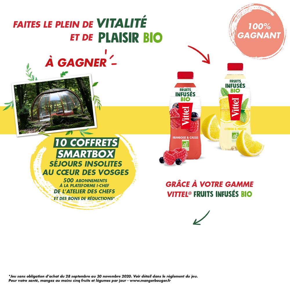 Code promo Croquons la Vie : 10 coffrets Smartbox correspondant à un séjour de 2 nuits en dôme dans les Vosges à gagner