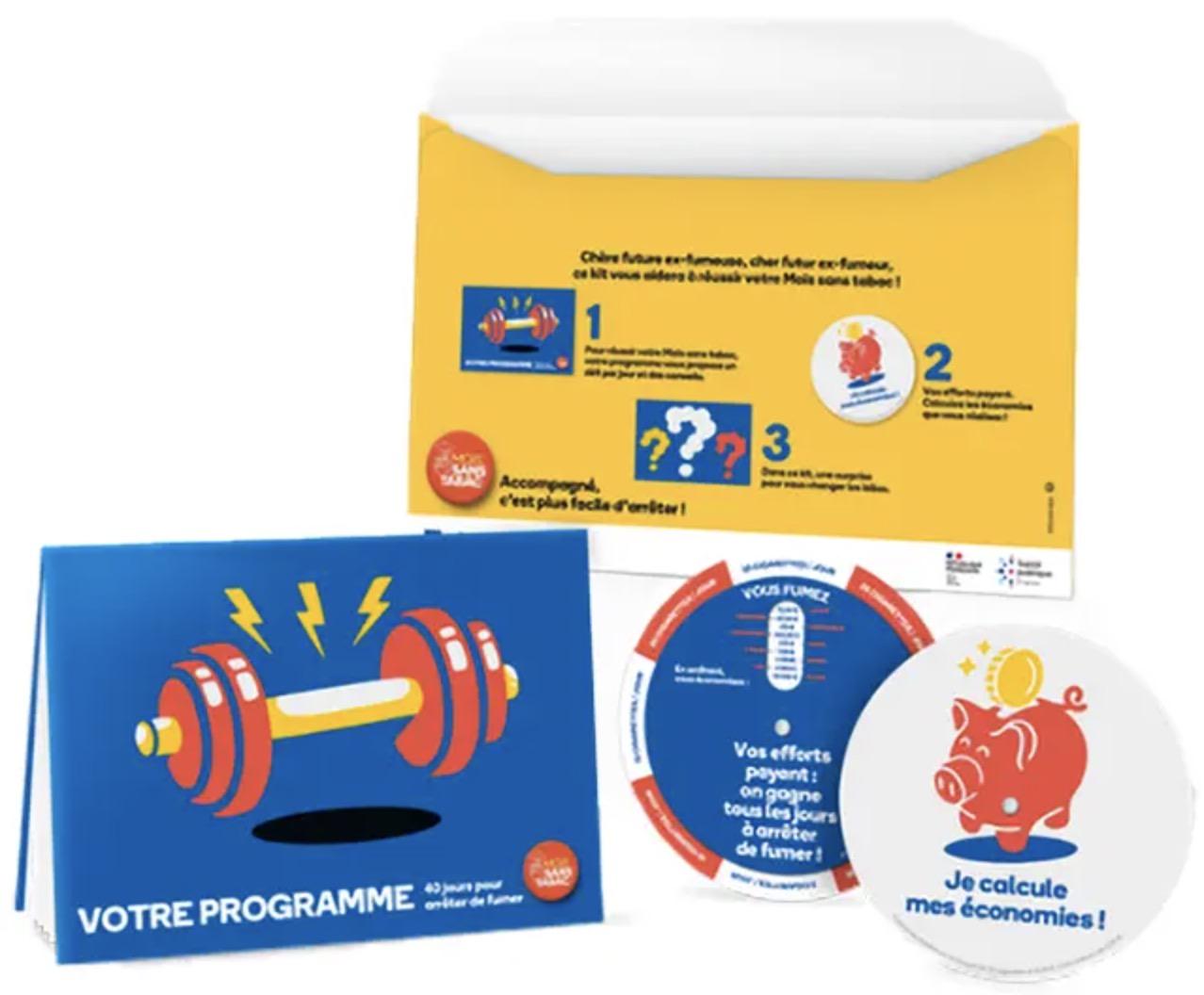 """Code promo tabac-info-service : Un kit """"mois sans tabac"""" offert gratuitement"""