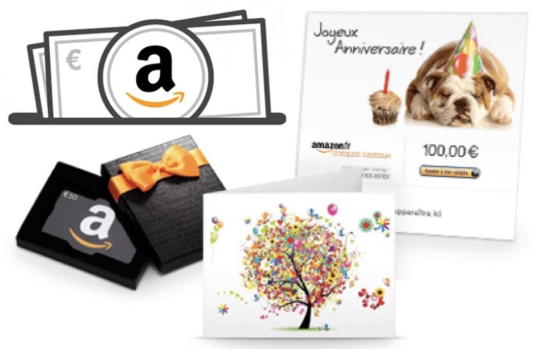 Code promo Amazon : 6€ offerts en rechargeant votre compte de 50€