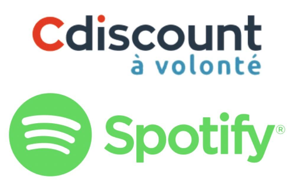 Code promo Cdiscount : [Membres Cdiscount à Volonté] 6 mois de Spotify Premium offerts dès 49€ d'achat sur le site