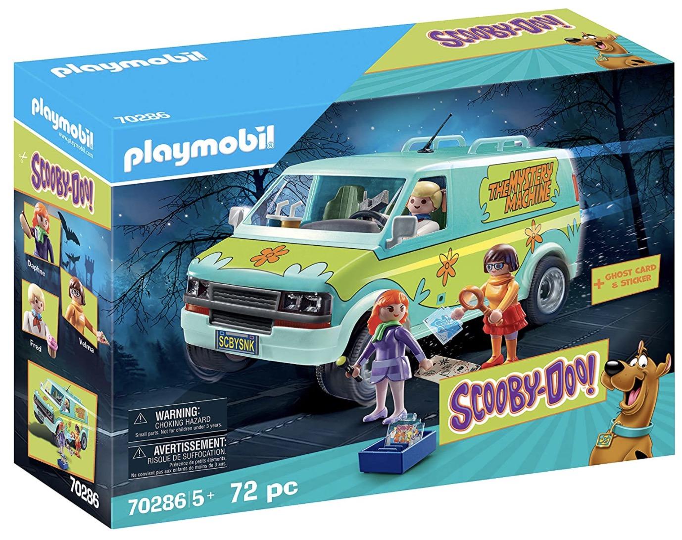 Code promo Amazon : Playmobil - Scooby-Doo! Mystery Machine - 70286 à 45,99€