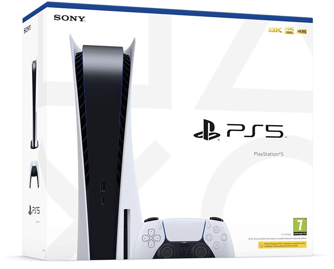 Code promo Amazon : Précommande PS5 garantie au plus bas prix