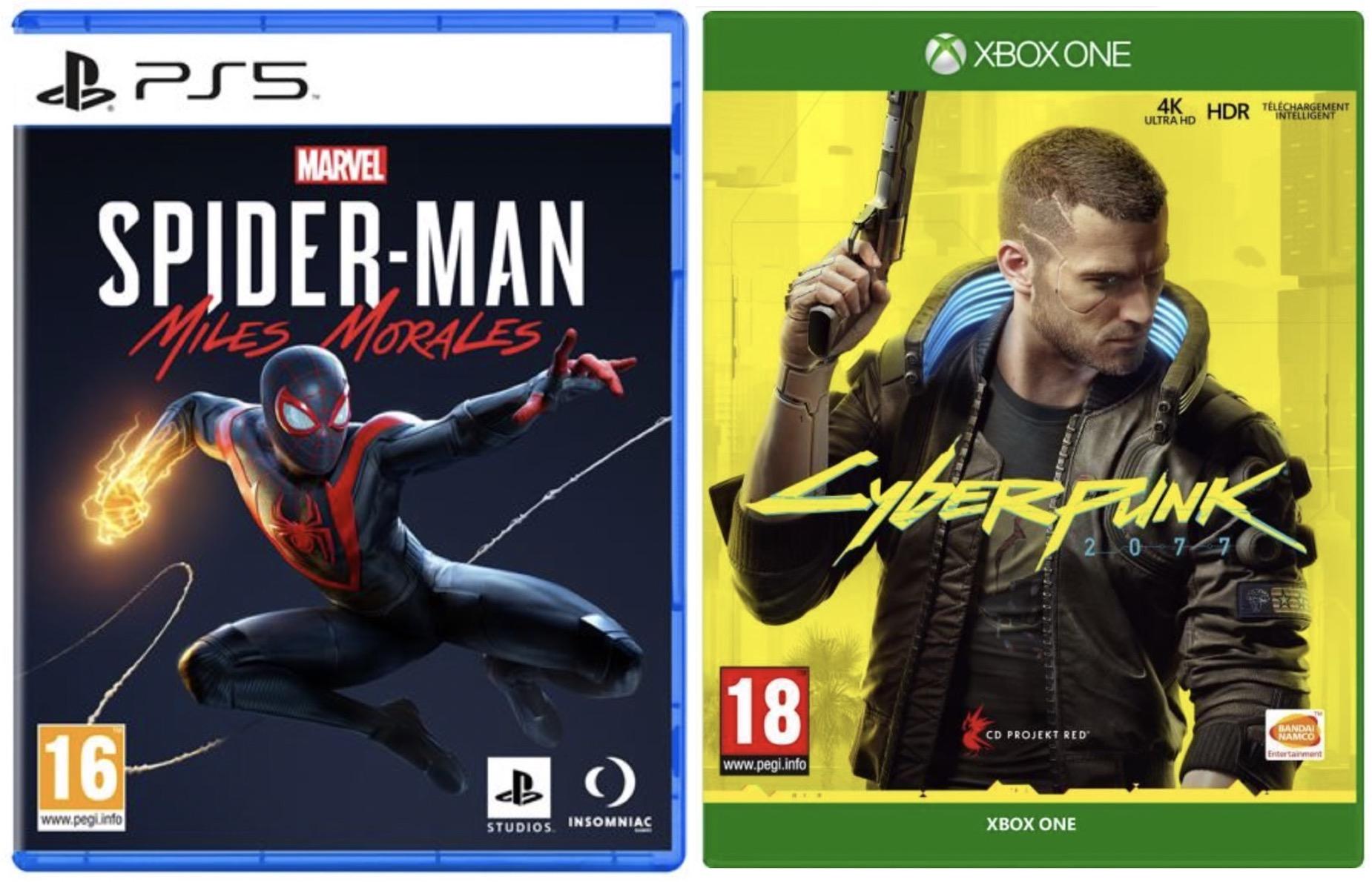 Code promo Cdiscount : [Membres Cdiscount à Volonté] 10€ à 15€ offerts sur une sélection de jeux pour PS5 et Xbox Series X