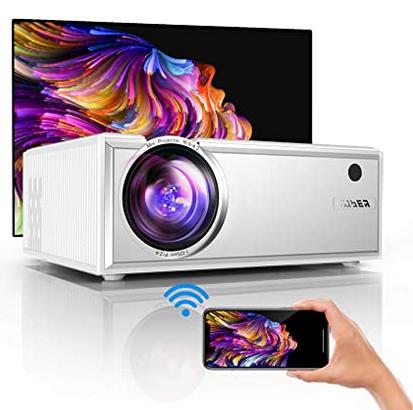 Code promo Amazon : Vidéoprojecteur portable 1080P compatible iPhone, Android, TV Stick à 76,49€