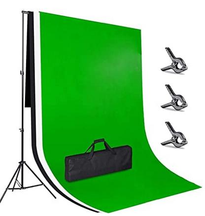 Code promo Amazon : Kit de support système avec 3 toiles de fond en tissu 3 x 2m Amzdeal à 48,50€