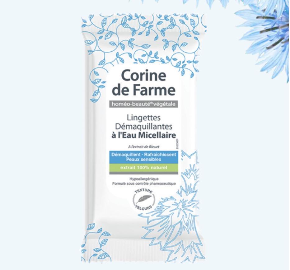 Code promo Corine de Farme : Echantillon gratuit de produits de beauté à recevoir