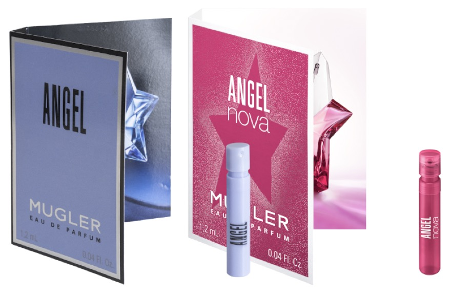 Code promo Mugler : Des échantillons de parfum Angel Eau de Parfum ou Angel Nova offert gratuitement