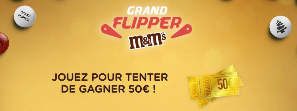 Code promo My M&M's : Un bon d'achat M&m's de 50€ à gagner