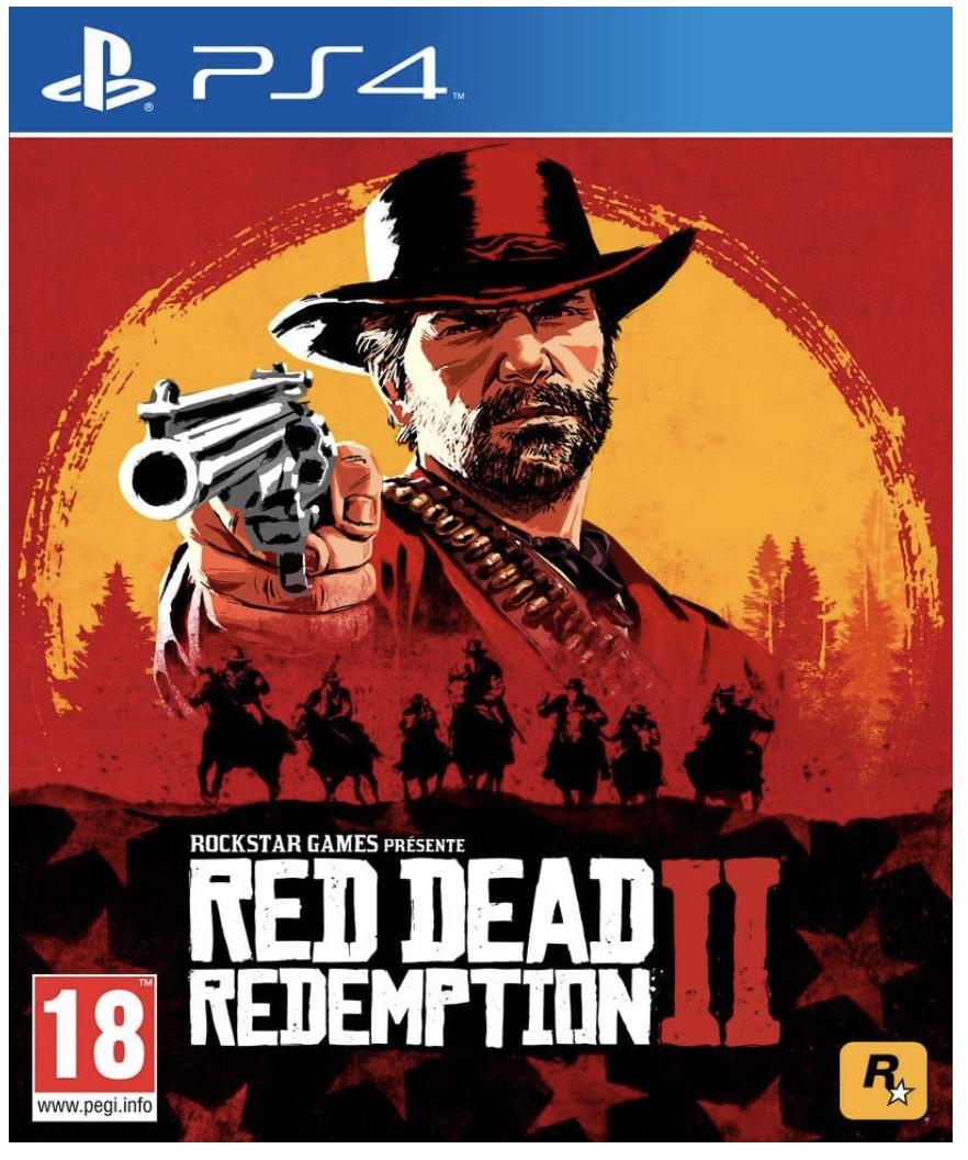 Code promo Amazon : Jeu Red Dead Redemption 2 sur PS4 à 18.72€