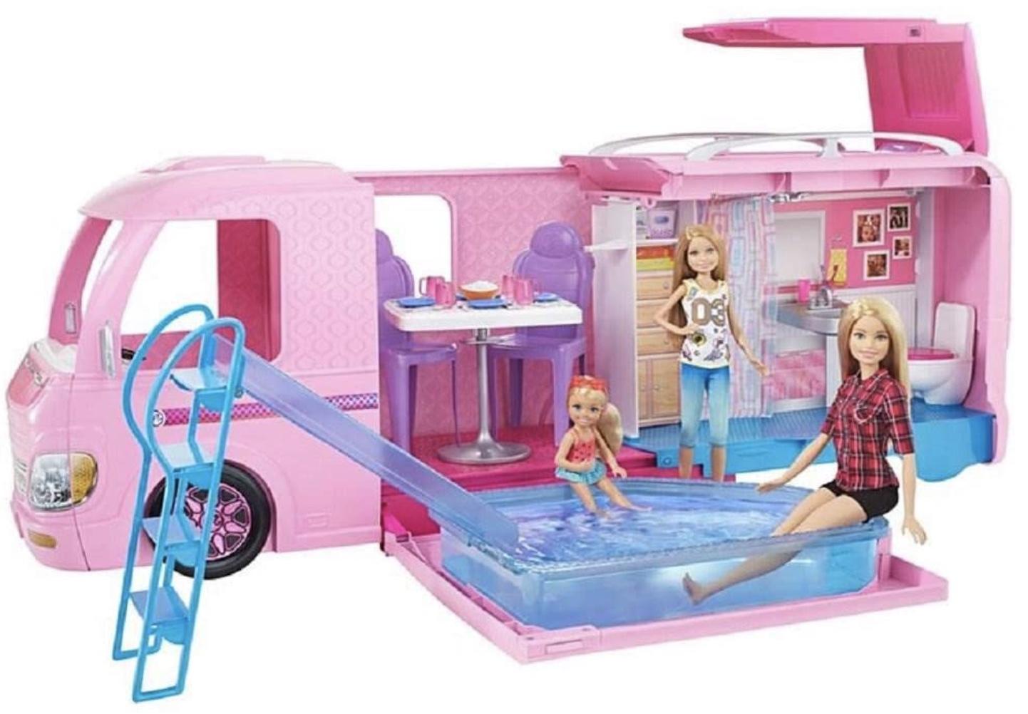 Code promo Amazon : Camping-Car Barbie Transformable à 59,99€
