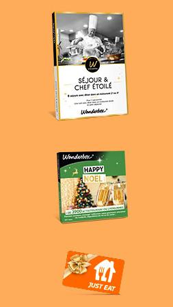 Code promo Just Eat (Allo Resto) : Des coffrets Wonderbox à gagner
