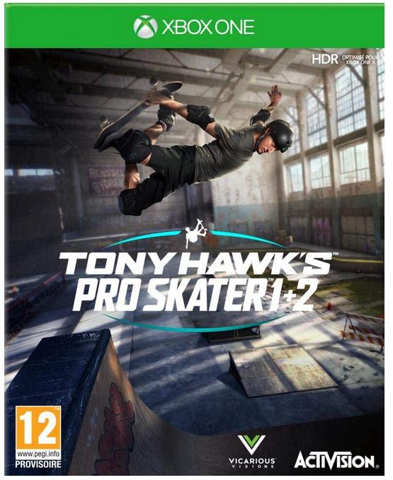 Code promo Amazon : Tony Hawk's Pro Skater 1+2 Xbox One à 26,99€