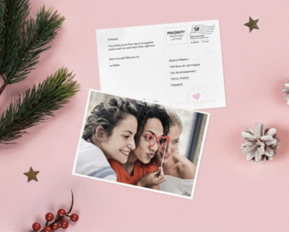 Code promo LALALAB : 1 carte postale photo personnalisable offerte gratuitement (livraison comprise)